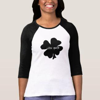 El raglán de la búsqueda de las señoras célticas camiseta