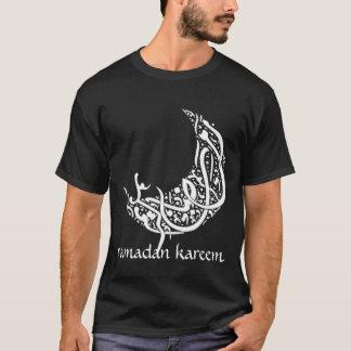 El Ramadán Kareem (colores oscuros) Camiseta