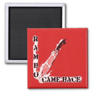 el rambo se volvió ejemplo del estilo del dibujo imanes