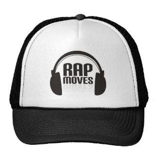 El rap mueve el gorra del camión