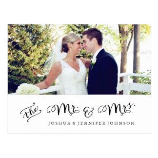 El recién casado le agradece postal de la foto de