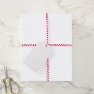 El regalo de boda de encargo marca la guita con etiquetas para regalos