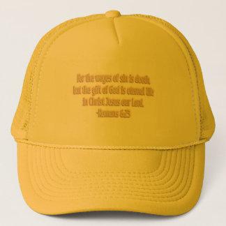 El regalo de dios es vida eterna gorra de camionero