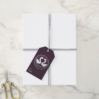 El regalo de encargo marca CISNES del AMOR con Etiquetas Para Regalos
