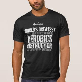 El regalo más grande 09 del mundo del INSTRUCTOR Camisetas