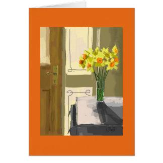 El regalo Pascua de la tarjeta de felicitación