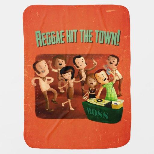 ¡El reggae golpeó la ciudad! Mantitas Para Bebé