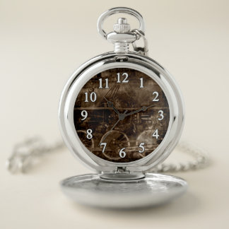 El reloj de bolsillo del caballo de hierro