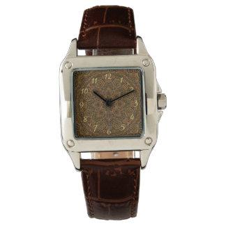 El reloj de la vintage mujer de Steampunk del
