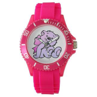 ¡El reloj de las mujeres del oso de peluche, para