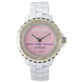 El reloj de las mujeres personalizadas para la