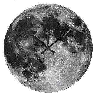 El reloj de pared de la luna