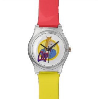 ¡El reloj del Clop! ¡Guau!