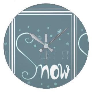 El reloj del invierno lo dejó nevar