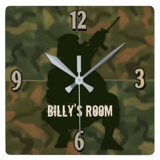 El reloj del niño del ejército - Camo y