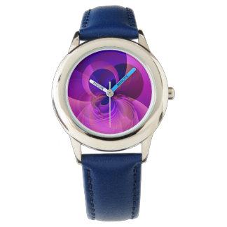 El reloj innumerable del niño abstracto moderno