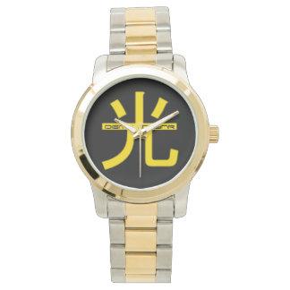 """el reloj """"LIGERO"""" de DzynR digital"""