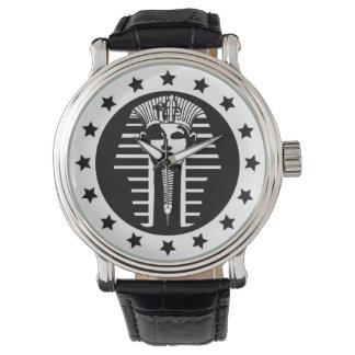 El reloj urbano del Pharaoh de la Ángel-Recaudador