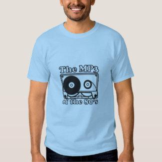 El reproductor Mp3 de los años 80 Camisas