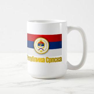El República Serbia Taza De Café