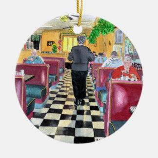 El restaurante de Duffy Adorno Redondo De Cerámica
