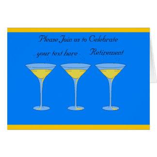El retiro invita tarjeta de felicitación