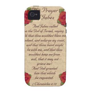 El rezo de Jabez Case-Mate iPhone 4 Carcasa