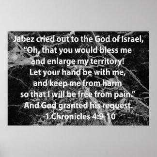 El rezo de Jabez Póster