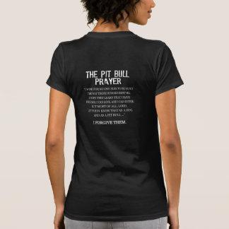 El rezo del pitbull camisetas