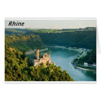 El Rin Alemania Angie Tarjeta De Felicitación