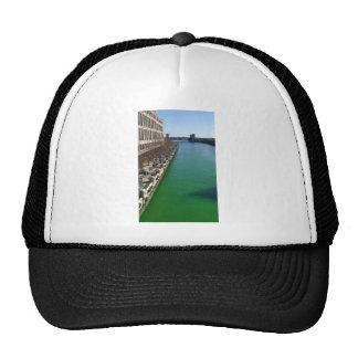 El río Chicago verde Gorro De Camionero