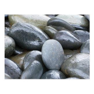 El río oscila la postal del zen