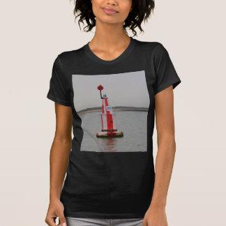 El río seguro de Bouy del canal se agacha Camiseta