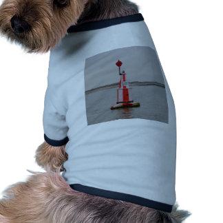 El río seguro de Bouy del canal se agacha Camisetas De Perrito