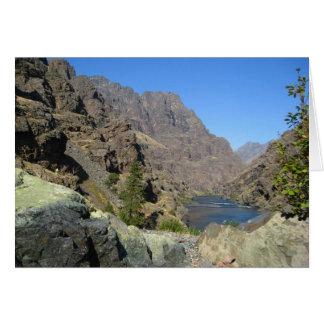 El río Snake Tarjeta