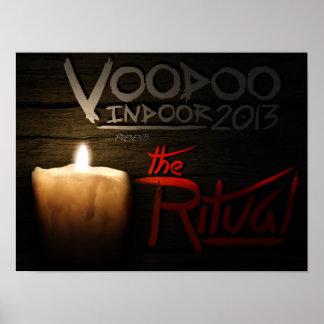 El ritual - 16x12 - acción del valor póster
