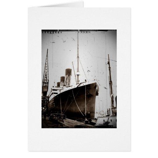 El RMS Olympic (1929) Felicitación
