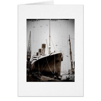El RMS Olympic (1929) Tarjeta De Felicitación