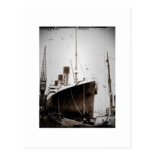 El RMS Olympic (1929) Tarjeta Postal