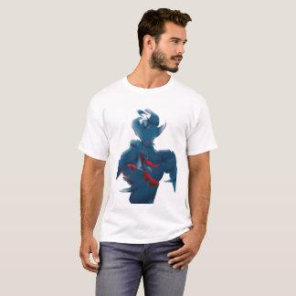 El robot retro inspiró la camiseta