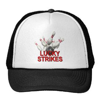 El rodar afortunado de las huelgas gorras de camionero
