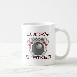 El rodar afortunado de las huelgas taza