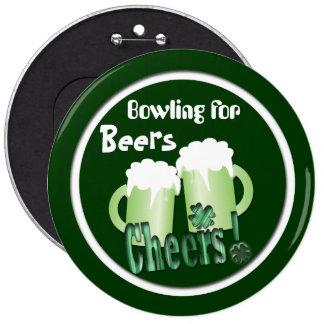 El rodar para las cervezas pin