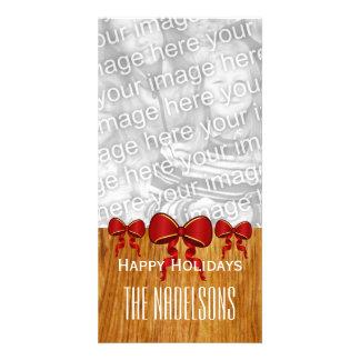 El rojo de GROUPON arquea las Felices Navidad V8 Tarjetas Personales