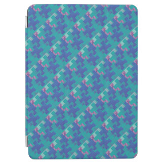 El rompecabezas junta las piezas de la cubierta cover de iPad air