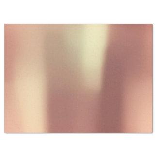 El rosa color de rosa del oro se ruboriza mínimo papel de seda