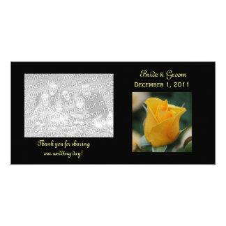 El rosa de la amistad le agradece las tarjetas de  tarjetas fotograficas