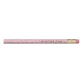 El rosa de la diversión modeló 1 línea lápiz