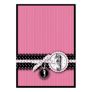 El rosa de la sensación del Seahorse le agradece N Tarjetas De Negocios