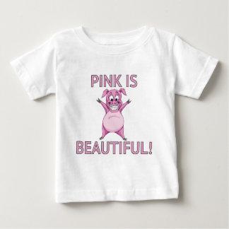 ¡El rosa es hermoso! Camiseta De Bebé